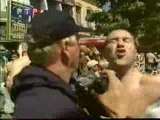 Football - Bagarre entre Hooligans