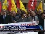 HDK'ya ırkçı-faşist saldırılar birçok kentte kınadı - 19.02.2013