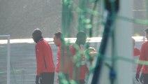 19/02/13 : entraînement du Stade Rennais FC
