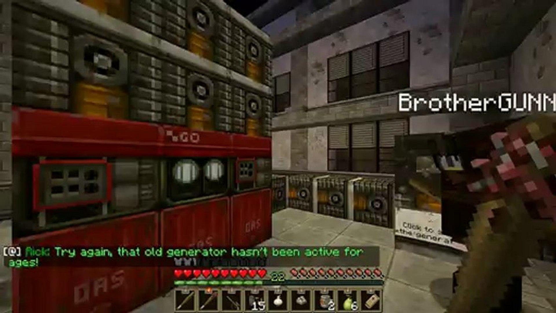 Minecraft: Zombie Apocalypse Ep 1 Dumb and Dumber video