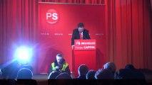 Congrès PS Bruxellois - Election de Laurette Onkelinx à la présidence du PS Bruxellois