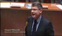 [ARCHIVE] Scolarisation des élèves en situation de handicap : réponse de Vincent Peillon au député Jean-Noël Carpentier lors des questions au Gouvernement à l'Assemblée nationale, le 19 février 2013