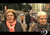 A S. Giovanni fra i delusi della politica che votano Grillo. Comizio finale del M5S che chiude la campagna elettorale