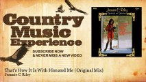 Jeannie C. Riley - That's How It Is With Him and Me - Original Mix - Country Music Experience