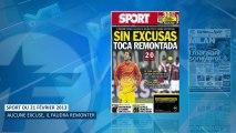 La presse espagnole flingue le Barça et Messi !