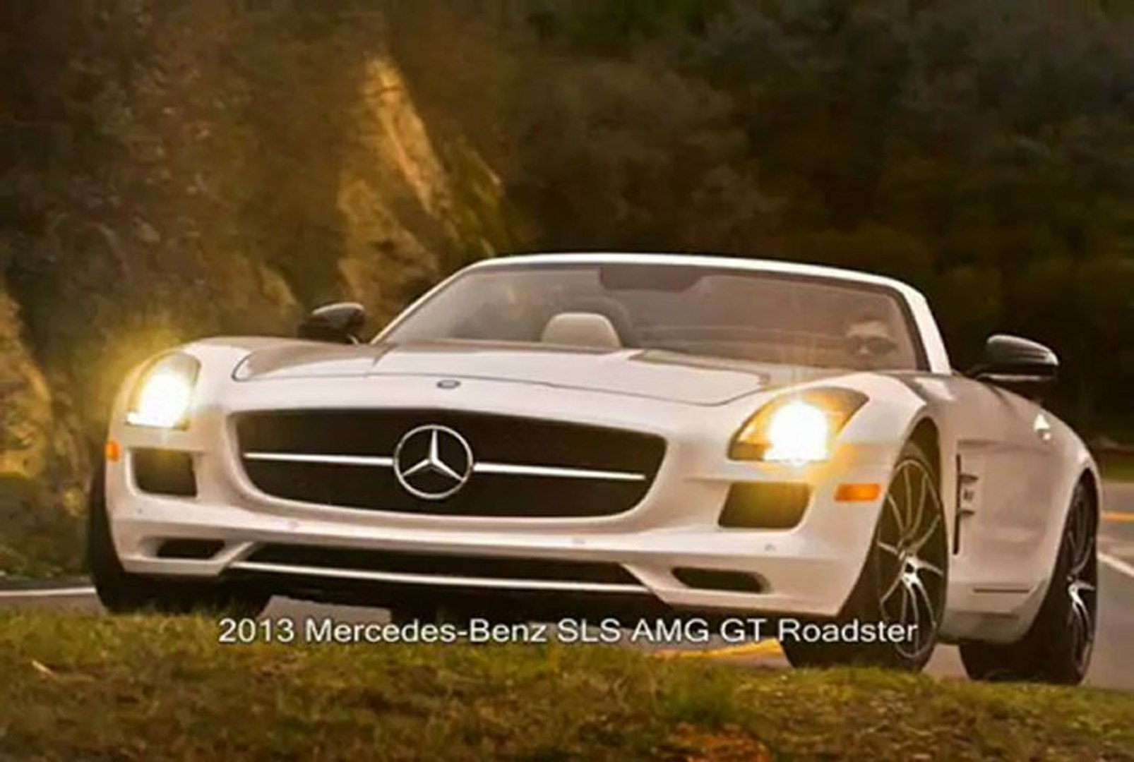 Mercedes Benz Sls Amg Gt Roadster First Look Video Dailymotion