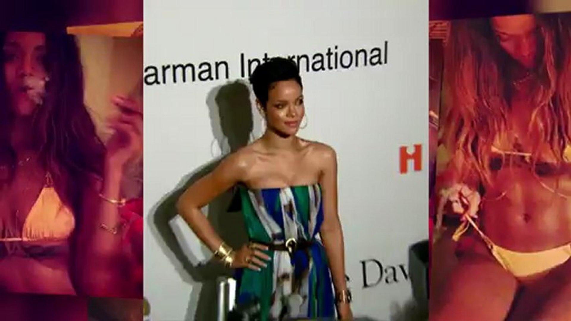 Rihanna en bikini dévoile son derrière tatoué pendant ses vacances