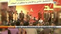 Egipto : EE.UU preocupado por los disturbios en Egipto