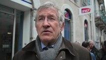 Bagnères : syndicats, élus et Bagnérais contre la fermeture de la boutique SNCF