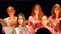 L'Ensemble de Jeunes Voix Aposiopée à Fontevraud 1
