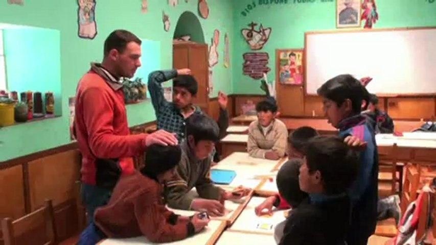 Camille et Yves, Volontaire de Solidarité Internationale (VSI) au Pérou