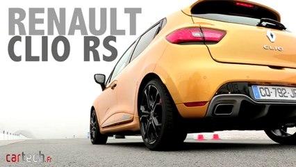Essai Renault Clio RS sur circuit