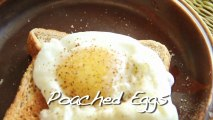 Poached Egg - 3 Different Ways To Cook - Quick Egg Recipe by Annuradha Toshniwal [HD]