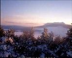 Timlapse depuis le Mont Signon vue sur le Mont Mézenc du 16 au 21 Février