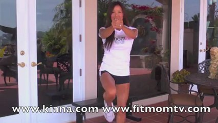 Demo: Lunges - Front Side No Weight