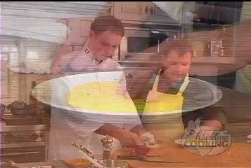 Grilled Filet with Grilled Gorgonzola Polenta