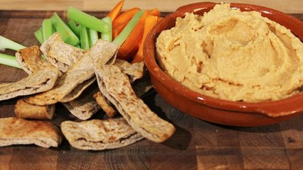 The Lighter Option: Low Fat Hummus