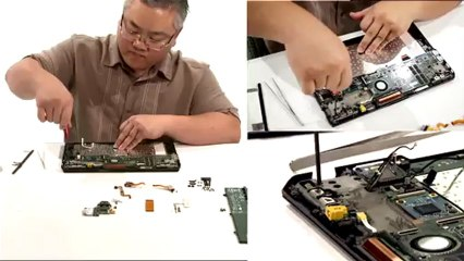 What is an Ultrabook? See Us Build One (VAIO Duo)