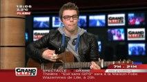Nouvelle Star : Florian Devos en live sur Grand Lille TV