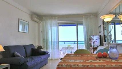 Location saisonnière appartement  à JUAN LES PINS - LE COLOMBIER proche plage commerce - 4 personnes