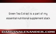 How to use Green Tea Supplements Damian Alexander, MD discusses How to use Green Tea