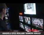 Anadolu Efes reklamının 'kamera arkası'