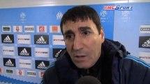 PSG - OM / Les supporters marseillais encadrés - 21/02