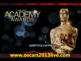 2013 The Oscars Red Carpet Live Streaming