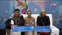 JWC 2013 Brittany JONES / Ian BEHARRY  FS