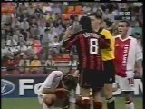 2003 (September 16) AC Milan (Italy) 1-Ajax Amsterdam (Holland) 0 (Champions League)
