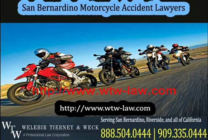 San Bernardino Accident Lawyer – Car Accident Attorney, Motorcycle & Truck Accident Attorney