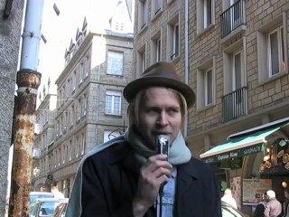 Rencontre avec Peter Von Poehl à Saint Malo