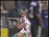 2003 (October 1) Ajax Amsterdam (Holland) 2-Club Brugge (Belgium) 0 (Champions League)