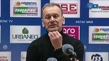 L1 / 2012-13 : Troyes 0-0 Bastia : Réaction de JM Furlan