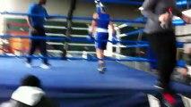 adam 3eme round  finale championnat pré combat idf 2013