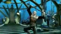 Injustice Gods Among Us Aquaman Combat Trailer