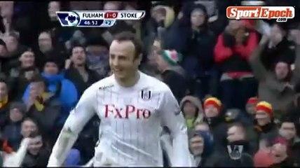 [www.sportepoch.com]47 ' Goal - Berbatov Fulham