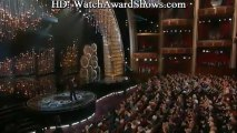 Captain Kirk stops Seth for racist jokes and Chris Brown and Rihanna 2013 Oscars [HD]