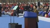 Park Geun-hye inaugurated as president