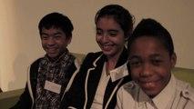 Interviews des jeunes lors du Séminaire national Eco-Ecole 2012
