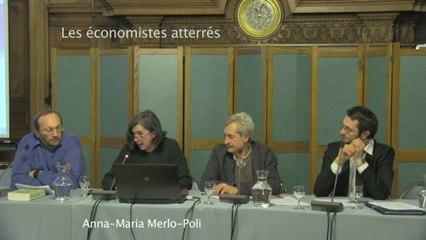 Conférence-débat sur l'état de l'Europe et nos initiatives 2013 - 4/6 - 2ème partie Dany Lang et Anna Maria Merlo Poli