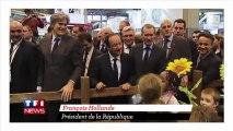 La petite blague de Hollande sur Sarkozy passe mal