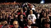 François Hollande en meeting à Rennes : la cohue pour relancer la campagne