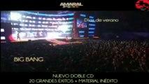 "Promoción de ""AMARAL 1998-2008"" (Doble CD recopilatorio de AMARAL)"