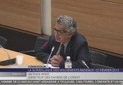 Travaux en commission : Audition d'Antoine Sfeir, directeur des Cahiers de l'Orient