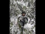 session freeride vtt tom neige 02.2013