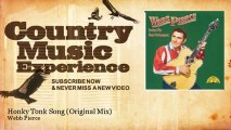 Webb Pierce - Honky Tonk Song - Original Mix - Country Music Experience