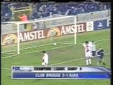 2003 (December 9) Club Brugge (Belgium) 2-Ajax Amsterdam (Holland) 1 (Champions League)