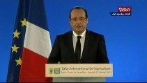 Événement : Conférence de presse de François Hollande au Salon de l'agriculture