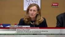 Auditions de Nicole Belloubet et de Nicole Maestracci, candidates au Conseil constitutionnel